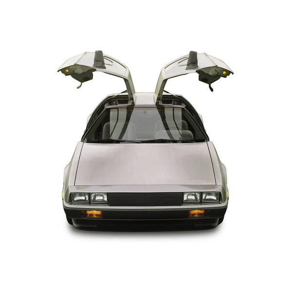 1983 Photograph - 1983 Delorean Coupe by Car Culture