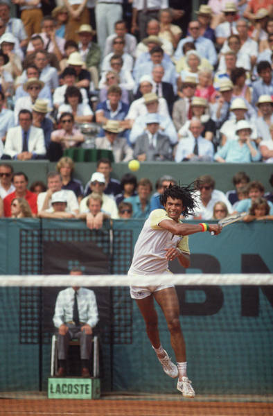 Court Photograph - 1983 French Open by Steve Powell