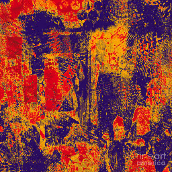 Wall Art - Digital Art - 1986 Abstract Thought by Chowdary V Arikatla