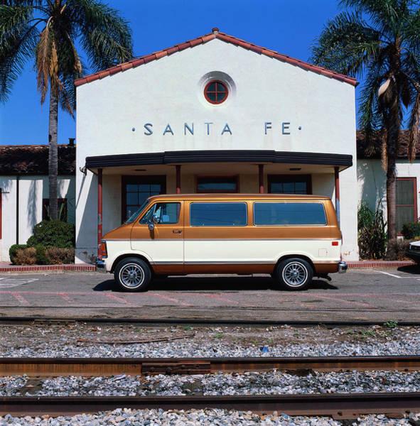 Wall Art - Photograph - 1986 Dodge Ram Van by Car Culture
