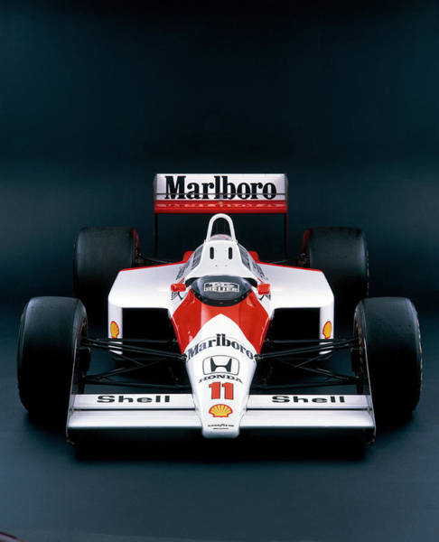 Brand Photograph - 1988 Mclaren Honda Mp44 by Heritage Images