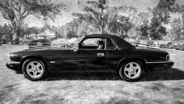 Photograph - 1995 Jaguar Xjs Convertible 400 by Rich Franco