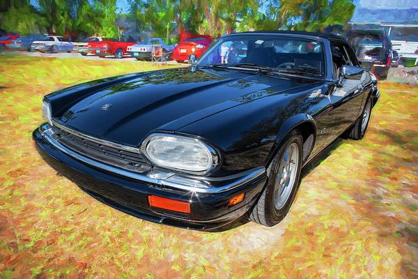 Photograph - 1995 Jaguar Xjs Convertible 403 by Rich Franco