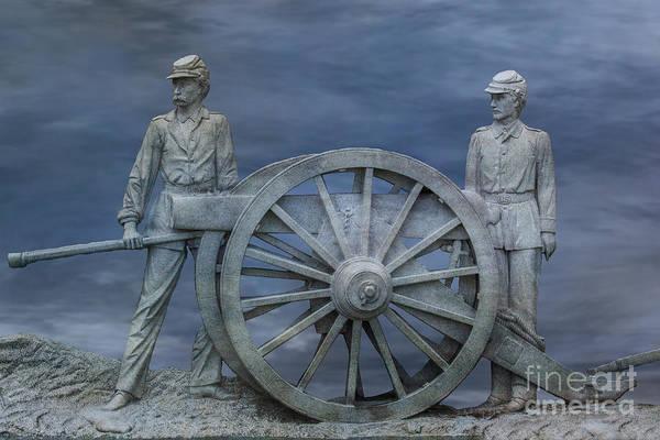 Wall Art - Digital Art - 1st Pennsylvania Artillery Gettysburg  by Randy Steele