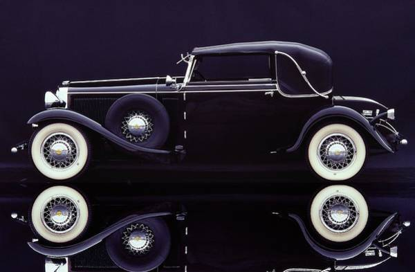 Sport Car Photograph - 1930 Graham-paige All Weather Cabriolet by Car Culture