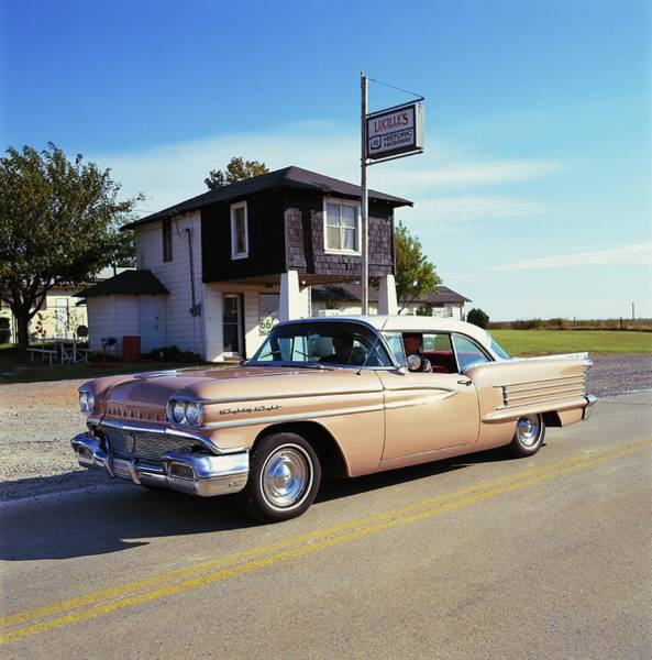 1958 Photograph - 1958 Oldsmobile Super 88 Holiday Coupe by Car Culture