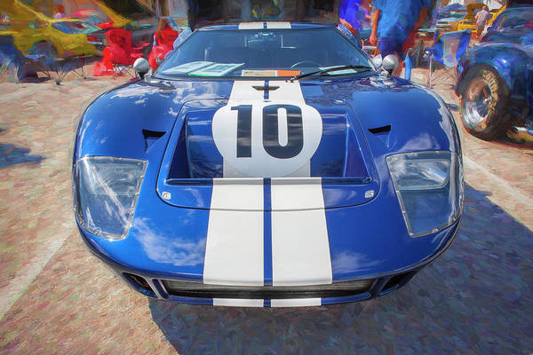 Photograph - 1966 Ford Gt40 Mk 1 201 by Rich Franco