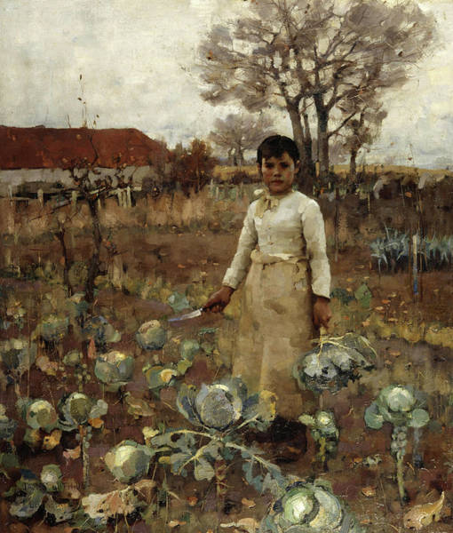 Wall Art - Painting - A Hind's Daughter by James Guthrie