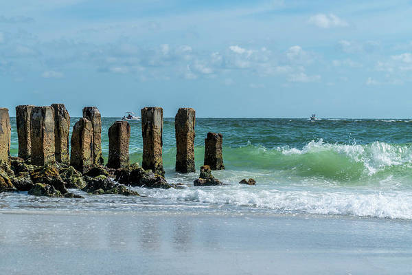 Sea Wall Art - Photograph - A Warm And Breezy Day  by Ric Schafer