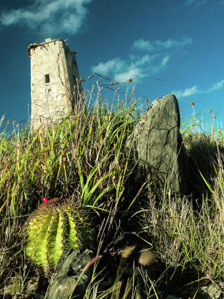 Photograph - Abandoned Old Lighthouse At The Top Of Gran Roque - Los Roques by Organizacion Bluewater