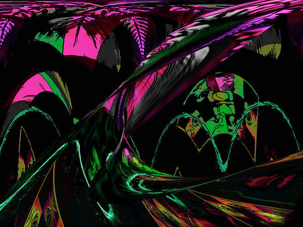 Digital Art - Abstract 1001 by Gerlinde Keating - Galleria GK Keating Associates Inc