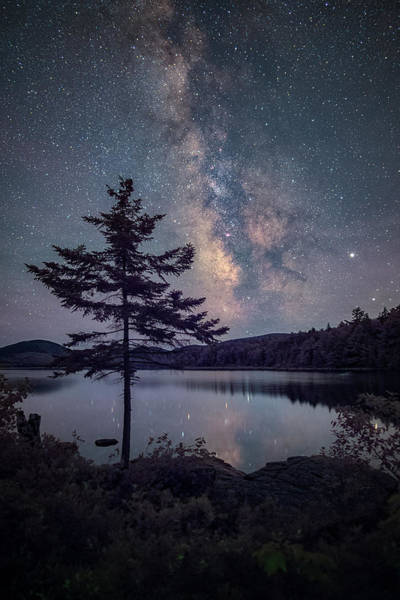 Wall Art - Photograph - Acadia Night by Robert Fawcett