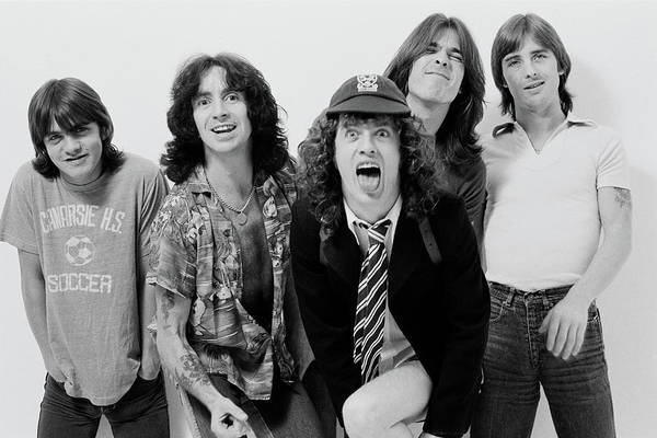 Photograph - Acdc In London by Fin Costello