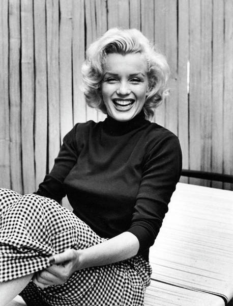 Photograph - Actress Marilyn Monroe At Home by Alfred Eisenstaedt