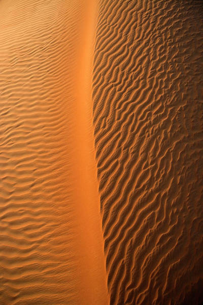 Wall Art - Photograph - Aerial View Of The Sand Dunes by Miva Stock