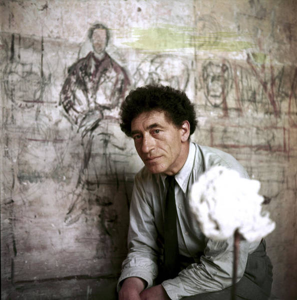 Photograph - Alberto Giacometti by Gordon Parks