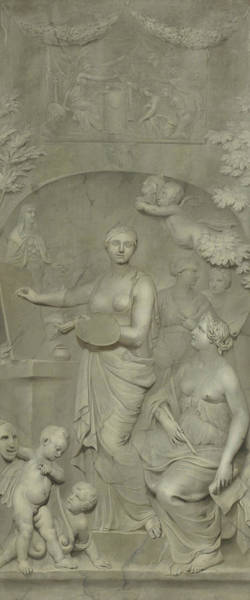 Painting - Allegory Of The Arts by Gerard de Lairesse