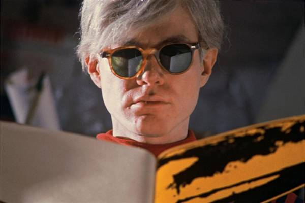 Archival Paper Photograph - Andy Warhol In New York, United States by Herve Gloaguen