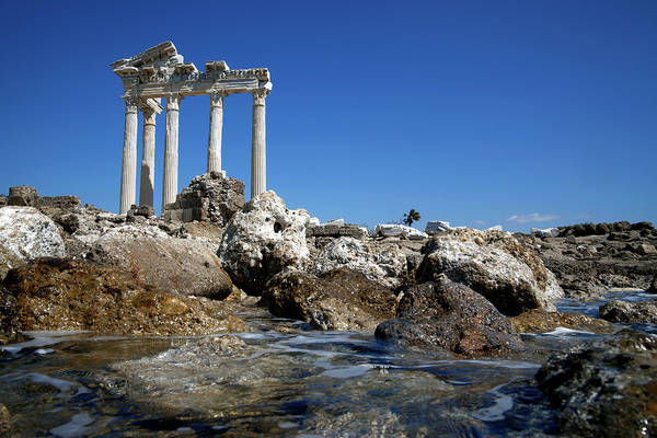 Ancient Greek Photograph - Apollo Temple by Barcin