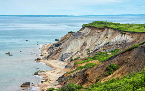 Wall Art - Photograph - Aquinnah Cliffs And Beach - Martha's Vineyard by Brendan Reals