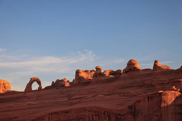 Natural Arch Photograph - Arches National Park by Michele Falzone