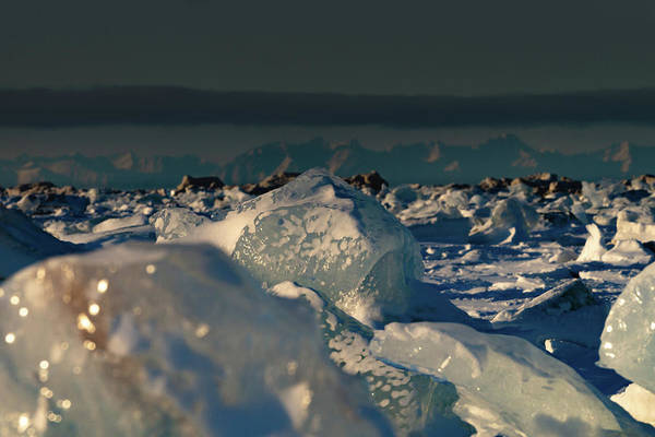 Photograph - Arctic Ice by Kai Mueller