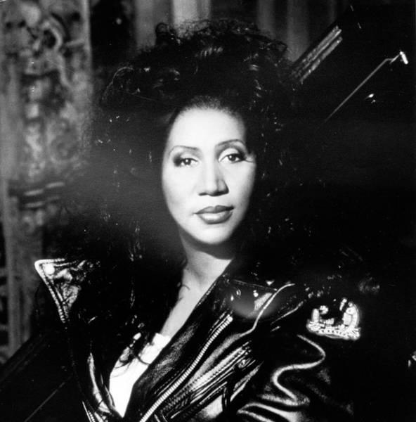 Photograph - Aretha Franklin by Afro Newspaper/gado
