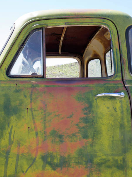 Wall Art - Photograph - Arizona, Oatman, Route 66, Old Truck by Jamie and Judy Wild
