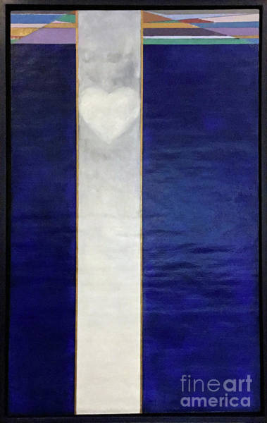 Painting - Ascending Heart by James Lanigan Thompson MFA