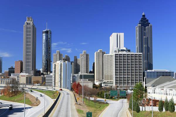 Placard Photograph - Atlanta, Georgia by Jumper