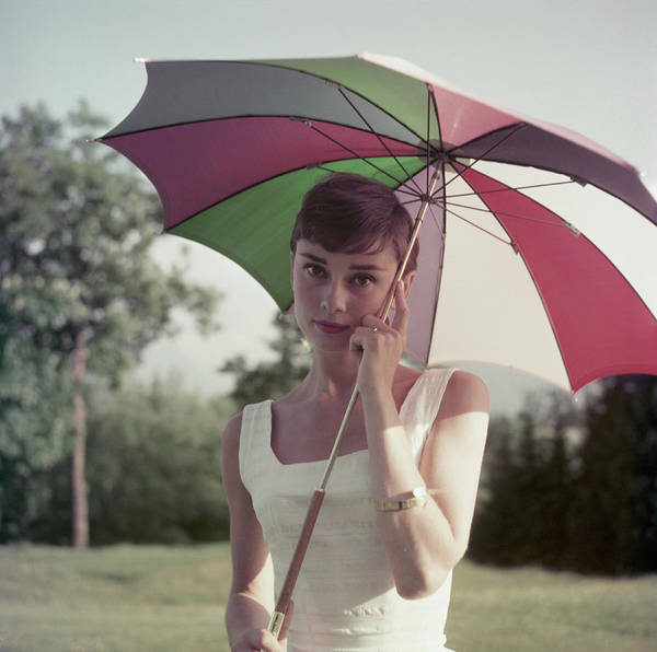 Wall Art - Photograph - Audrey Hepburn by Hulton Archive