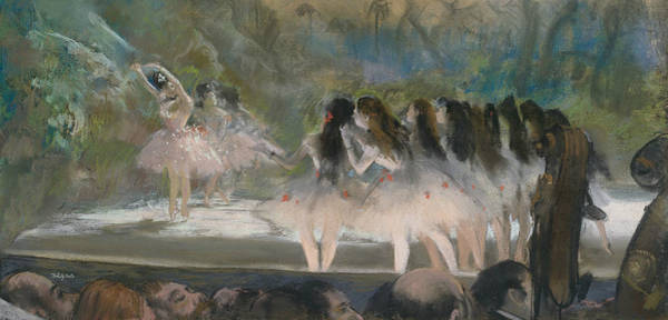 Pastel - Ballet At The Paris Opera by Edgar Degas