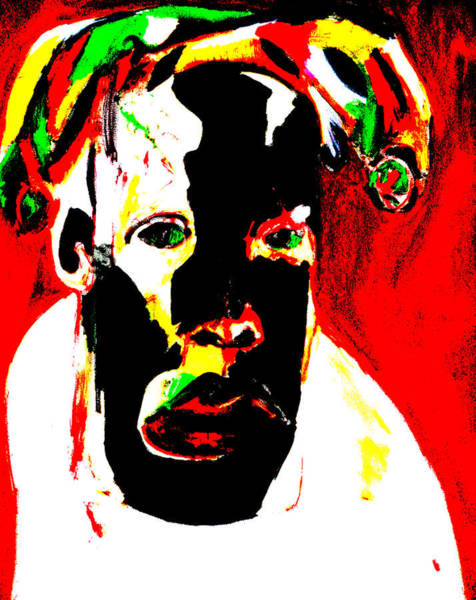 Digital Art - Basquiat by Artist Dot