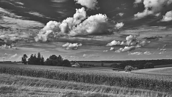 Wall Art - Photograph - Beautiful Iowa Farm Scene by Mountain Dreams