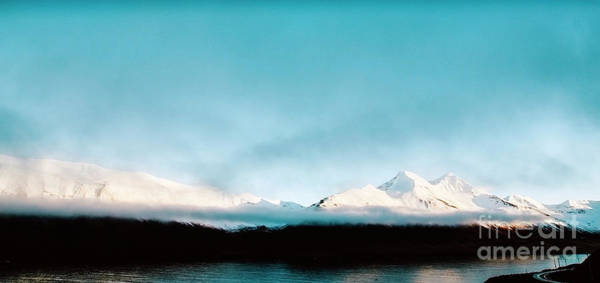 Photograph - Beautiful Scene Of A Landscape With High Snowy Mountains And Sea. by Joaquin Corbalan