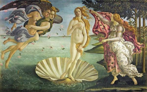 Painting - Birth Of Venus by Sandro Botticelli