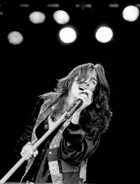 Black Crowes Wall Art - Photograph - Black Crowes Live Ireland 1990 by Martyn Goodacre