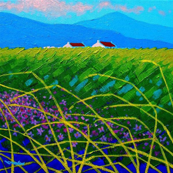Wall Art - Painting - Blue Hills by John  Nolan