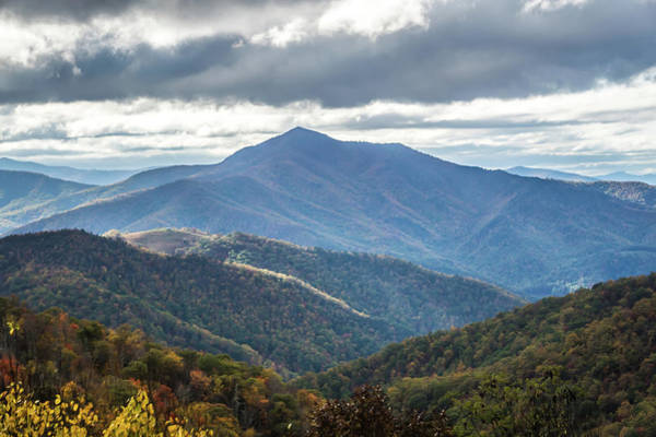 Photograph - Blue Ridge Mountains Views From The Parkway by Alex Grichenko