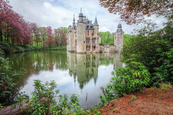Antwerp Photograph - Borrekens Castle - Belgium by Joana Kruse