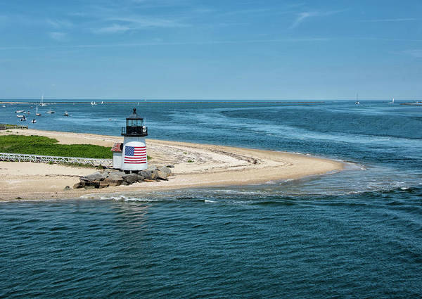 Wall Art - Photograph - Brant Point Lighthouse - Nantucket Massachusetts by Brendan Reals