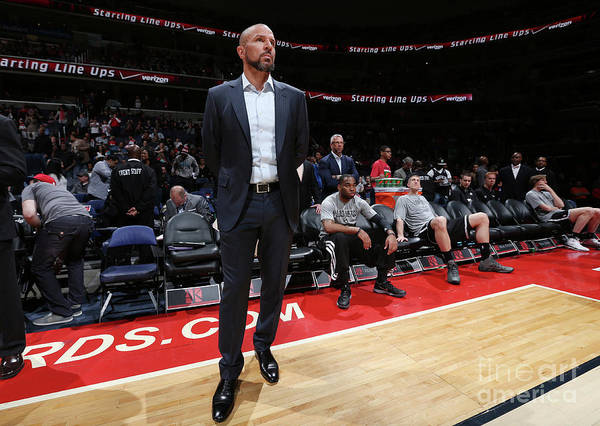 Photograph - Brooklyn Nets V Washington Wizards by Ned Dishman