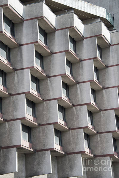 Wall Art - Photograph - Brutalist Architecture by Juli Scalzi
