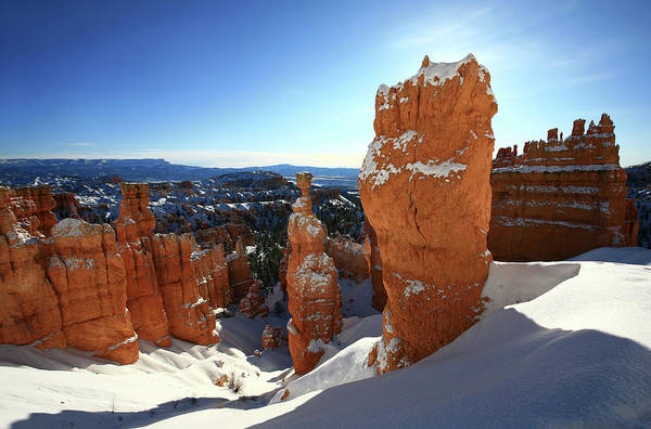 Wall Art - Photograph - Bryce Canyon In Winter by Imaginegolf