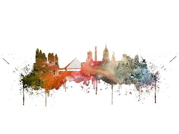 Wall Art - Digital Art - Buenos Aires  by Erzebet S