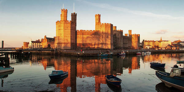 Photograph - Caernarfon Castle by Peter OReilly