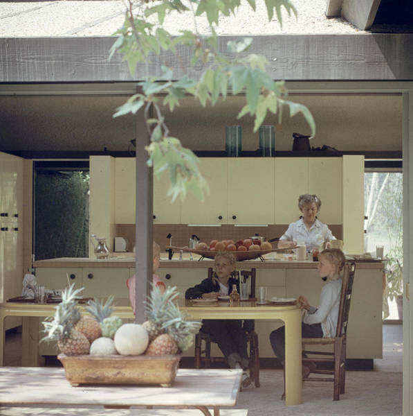 Ranch Photograph - California Ranch Interior by Gordon Parks