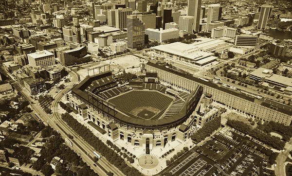 Wall Art - Photograph - Camden Yards - Home Of The Baltimore Orioles by Mountain Dreams