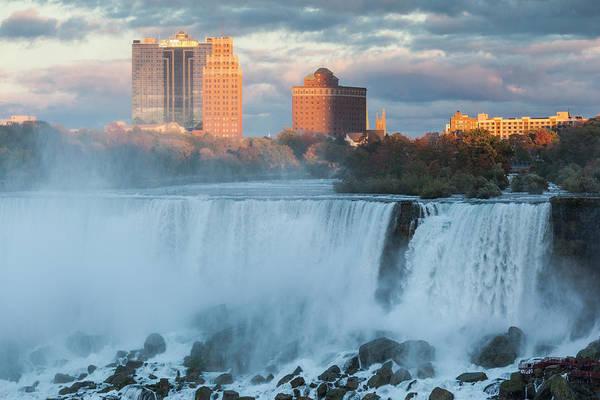Wall Art - Photograph - Canada, Ontario, Niagara Falls, Bridal by Walter Bibikow