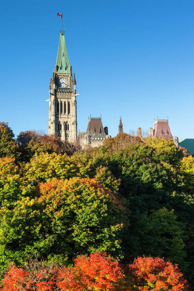 Wall Art - Photograph - Canada, Ontario, Ottawa, Canadian by Walter Bibikow